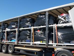 Motoren op transport richting de Portimão track day met Trackdays4all