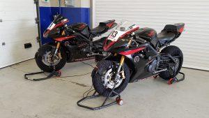 Je kan ook een racemotor huren bij Trackdays4all