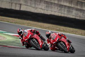 Racen met de nieuwe Ducati Panigale V4