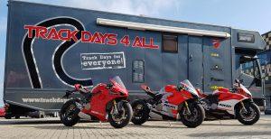 Test de nieuwe Ducati Panigale V4 op Portimão met Trackdays4all
