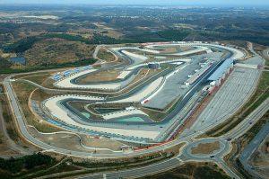 Overview van Portimão circuit