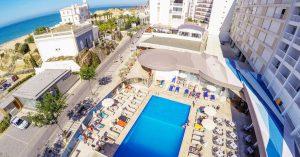 Zwembad van het Jupiter Algarve Hotel